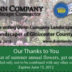 picture of Dunn Landscaping magazine advertisement
