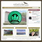 Picture of Red Tail Ridge Winery web site