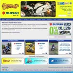 link to Suzuki Motor Sports web site